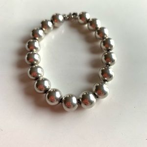 Tiffany & Co Silver Ball Bracelet